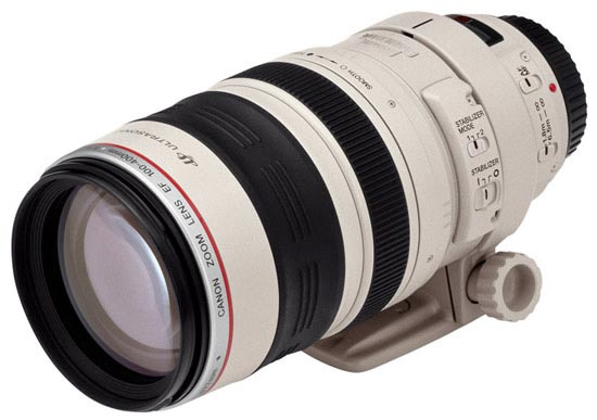 Canon EF 100-400mm f/4,5-5,6 L IS USM  på Objektivguiden ()