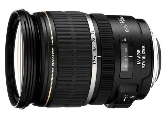 Canon EF-S 17-55mm f/2,8 IS USM
