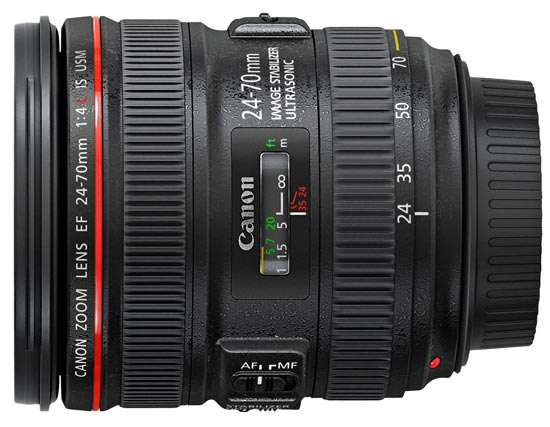 Canon EF 24-70mm f/4 L IS USM på Objektivguiden ()