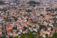 Picture taken with Tilt Shift-objektiv